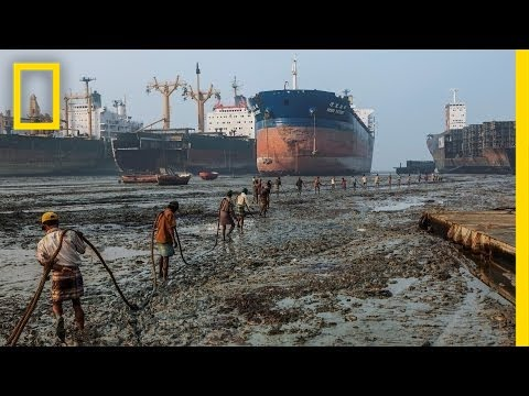 Thumbnail: Where Ships Go to Die, Workers Risk Everything | National Geographic
