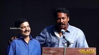 I missed acting in KB's play - Samuthirakani | 100th Show Celebrations | Thillalangadi Moganambal
