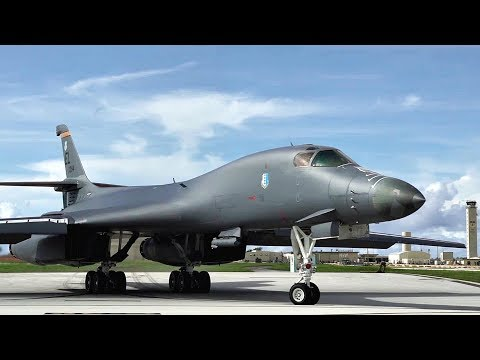 Message To Kim: USAF Bombers Take Off From Guam For Training, Ensuring They Can 'Fight Tonight'