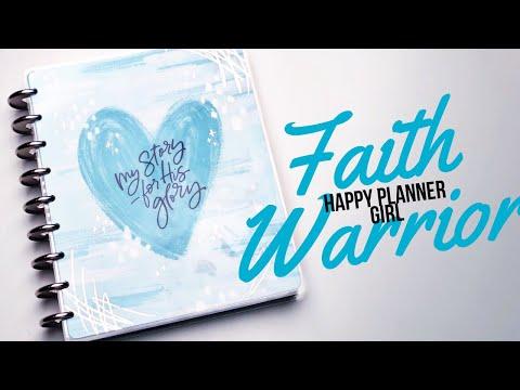 The Happy Planner Girl: Faith Warrior
