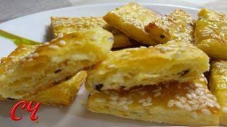 Слоеное Печенье из Картофеля. Безумно Вкусное и Очень Слоеное! /Puff Pastry from Potato
