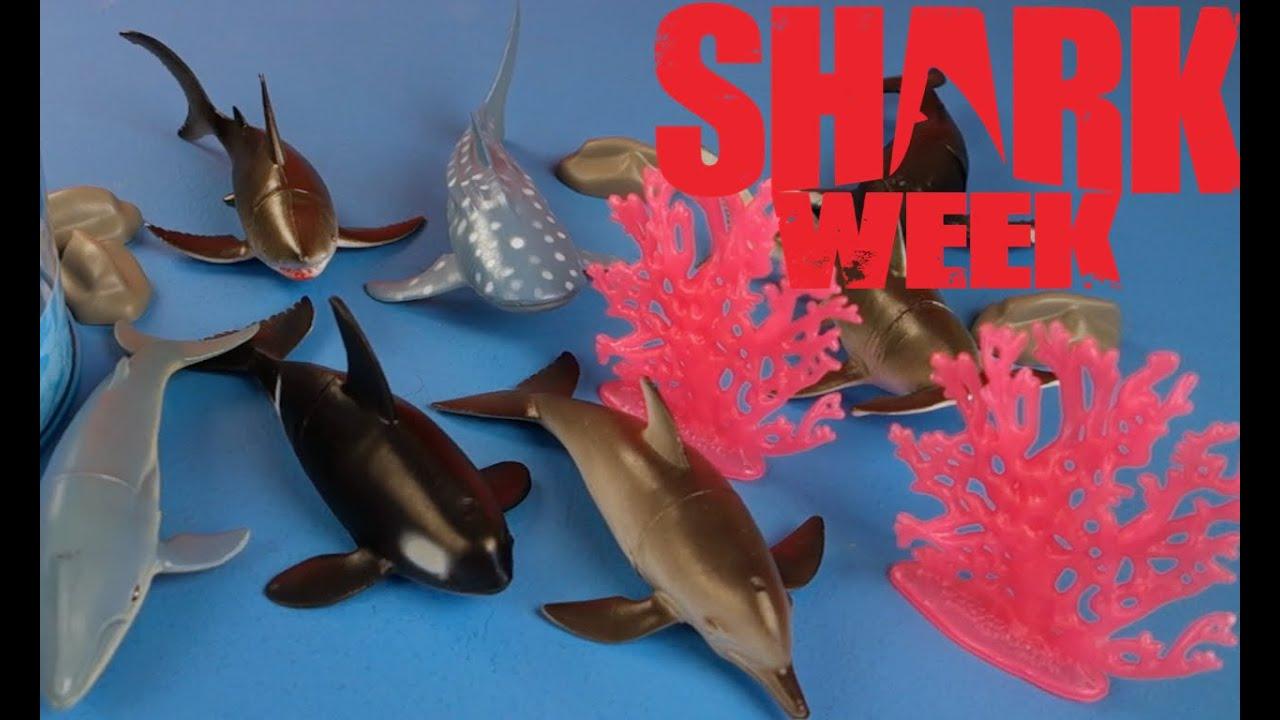 Goblin Shark Toys : Shark week animal planet ocean collection youtube