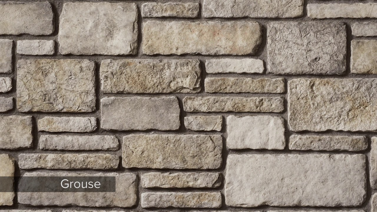 Cultured Stone Sculpted Ashlar Video News Release