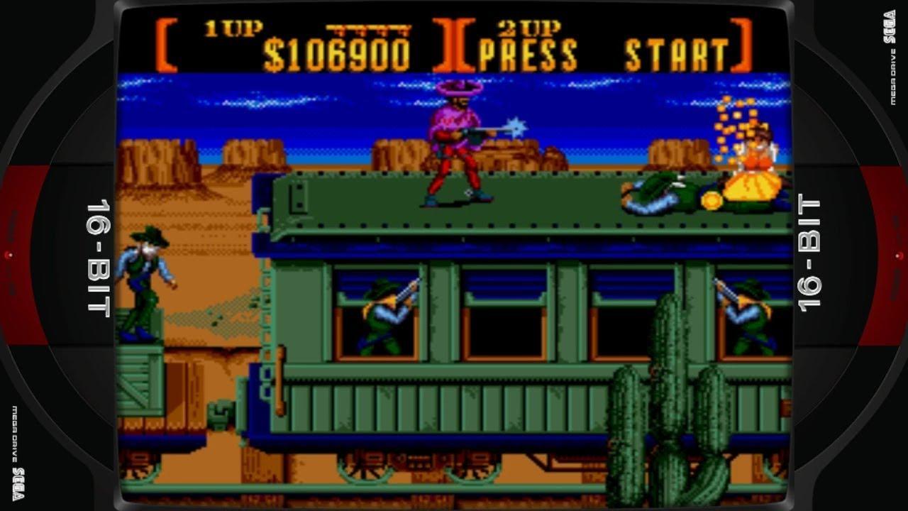 Sunset Riders (Mega Drive - Konami - 1992)