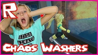 Dying in The Chaos Washers / Roblox