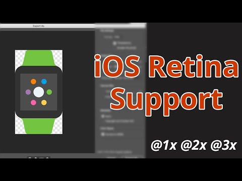How to Support High Resolution on iOS - @1x @2x @3x
