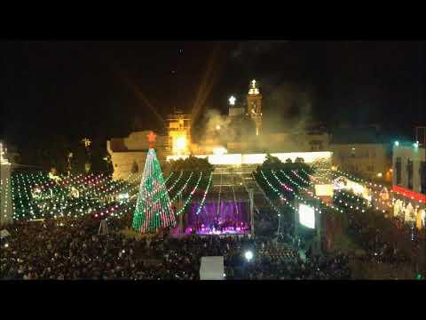 Lighting the Bethlehem Christmas tree 2017 - Lighting The Bethlehem Christmas Tree 2017 - YouTube