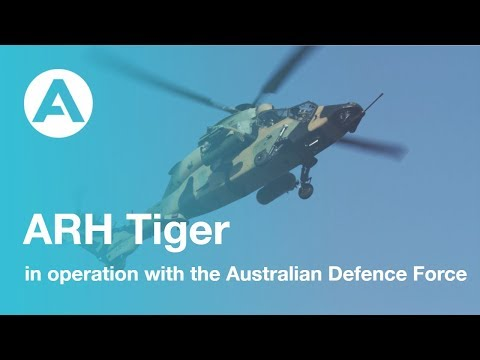 ARH Tiger in operation with the Australian Defence Force