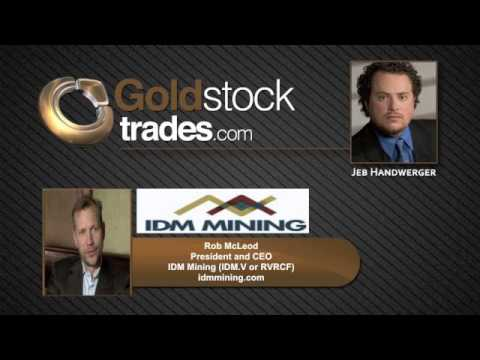 IDM Mining $IDM.V $RVRCF Discovering New High Grade Gold Zones at Red Mountain