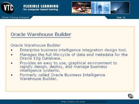 10 01 Oracle Warehouse Builder