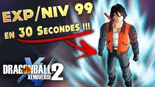 MONTER DE NIVEAU : Nouvelle Méthode ULTRA Rapide ! | DRAGON BALL XENOVERSE 2