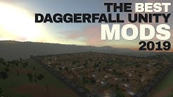Daggerfall Unity BEST MODS (2019)