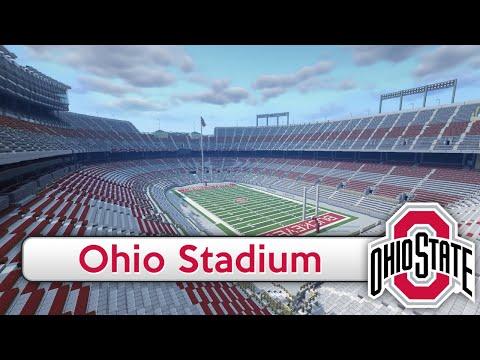 Minecraft - MEGABUILD - Ohio Stadium (Ohio State) + DOWNLOAD [Official]