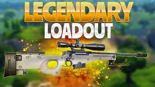 LEGENDARY LOADOUT (Fortnite Battle Royale)