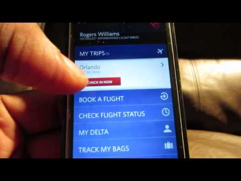 Delta Online Booking