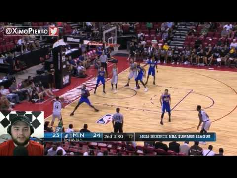 Jordan Bell is solid!! Golden State Warriors vs Minnesota Timberwolves NBA Summer League *Reaction*