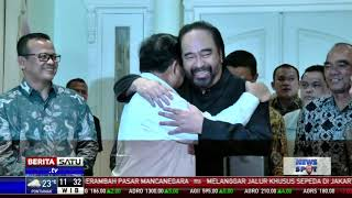 Surya Paloh Setuju Gerindra Masuk Koalisi Presiden Jokowi