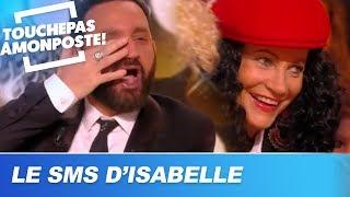 Cyril Hanouna reçoit un SMS d'Isabelle Morini-Bosc : fou rire général sur le plateau !