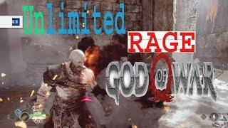 GOD OF WAR 4 UNLIMITED RAGE / GAMEPLAY  ON PS4