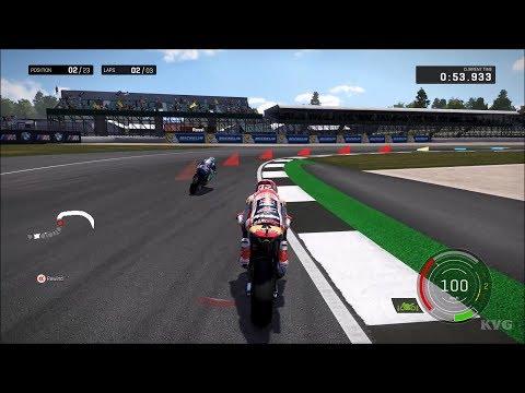 MotoGP 17 - Silverstone Circuit | Great Britain GP Gameplay (PC HD) [1080p60FPS]