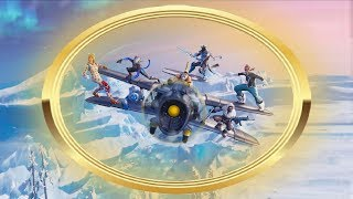 LOCATIONS - FLY THROUGH GOLDEN RINGS IN AN X-4 STORMWING PLANE - FORTNITE BATTLE ROYALE