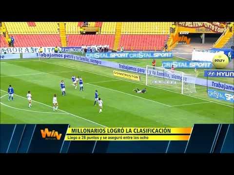 Resumen Millonarios 2 - 1 Tolima - Liga Postobón 2013 II - Fecha 17 - Win Sports from YouTube · Duration:  3 minutes 18 seconds