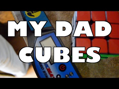 My Dad Was a Pro Cuber!