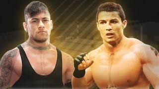 CONFRONTO FORA DOS GRAMADOS: NEYMAR JR vs CRISTIANO RONALDO  !!!  | WWE 2K17 ‹ SHERBY ›