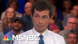 Watch Pete Buttigieg Ask A Question During Hardball College Tour In 2003 | Hardball | MSNBC