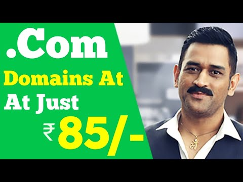 How To Buy .Com Domains At Cheapest Price (₹85)   GoDaddy - Cheap Domains Tricks