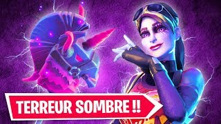 THE SKIN TERREUR SOMBRE OFFICIALLY SORTI on FORTNITE!!