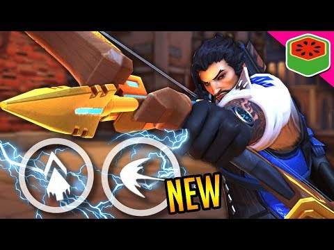 NEW HANZO REWORK IS OP! | Overwatch