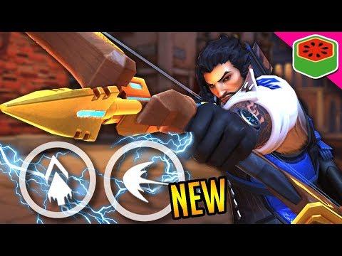 NEW HANZO REWORK IS OP! | Overwatch