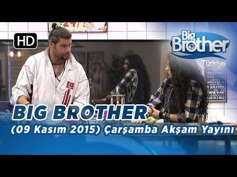 Big Brother Türkiye (9 Aralık 2015) Çarşamba Gece Yayını - Bölüm 16