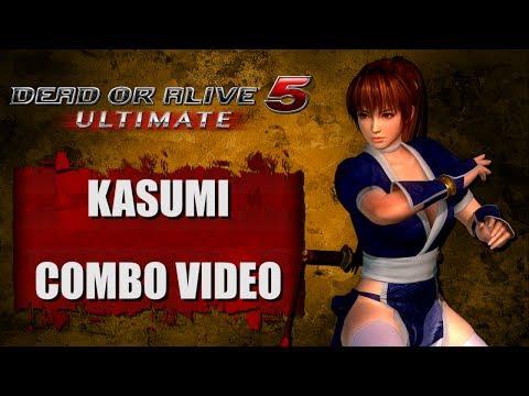 DOA5 ULTIMATE (Ver. 1.04) KASUMI - COMBO VIDEO