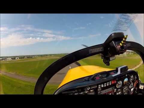 Basic aerobatics -  Cranfield - Slingsby T67 Firefly