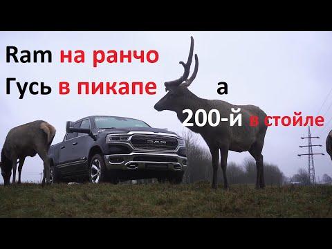Отдали Авто Ру в тест новый Dodge Ram 1500 и вот что из этого получилось...
