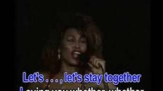 Let's stay together - Tina Turner (Karaoke)