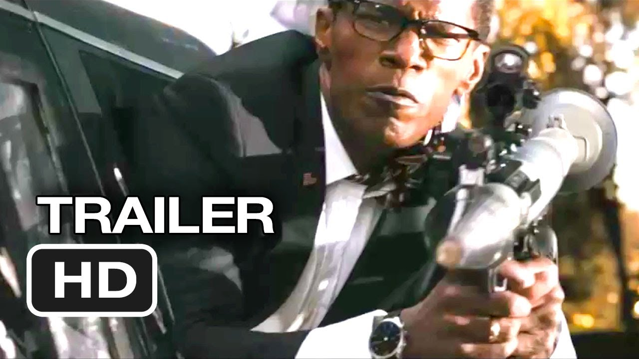 White House Down Official Trailer 2 2013 Jamie Foxx