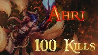 [100 KILLS] Ahri Montage - Diamond Elo