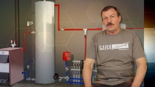 видео Аккумулятор тепла для системы отопления - назначение и применение теплоаккумулятора