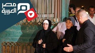 مصر العربية   ميرفت أمين وسهير البابلى ودلال عبدالعزيز بعزاء الساحر