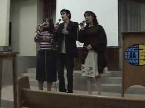 trio nova canção Melissa, Paulo e Jéssica