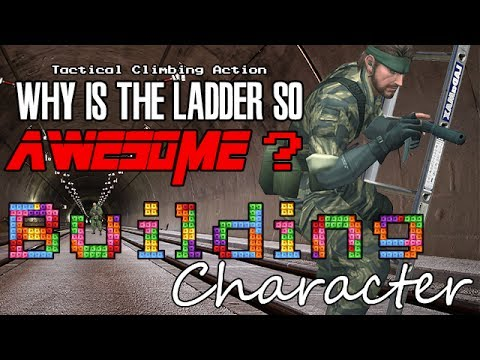 Why is the Ladder in Snake Eater so Awesome? - Building Character