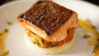 Crispy Salmon  Bruno Albouze