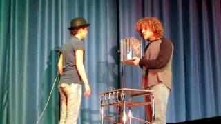 "Lisa and Josh ""Dead Parrot Sketch"" - FSK High School Talent Show '10"
