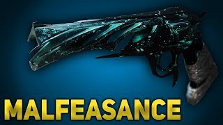Malfeasance Exotic In-Depth Review/Breakdown & Damage Comparison (Destiny 2 Forsaken)