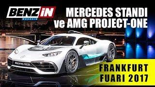 Mercedes AMG Project ONE ve Mercedes Standı - F1 motorlu otomobil - Frankfurt Fuarı 2017