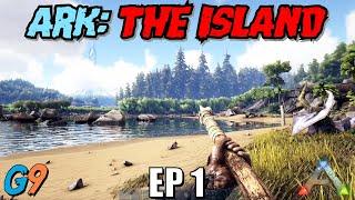 Ark Survival Evolved - Tнe Island EP1 (Getting Started)