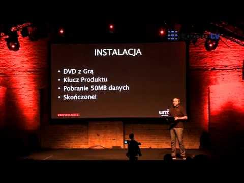 Konferencja CD Projekt - Tomasz Gop, senior producer o Wiedźminie 2
